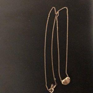 Tiffany's Bean necklace
